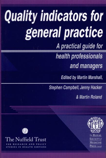 Quality Indicators for General Practice book cover