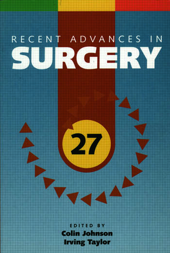 Recent Advances in Surgery 27 book cover