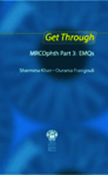 Get Through MRCOphth Part 3: EMQs book cover
