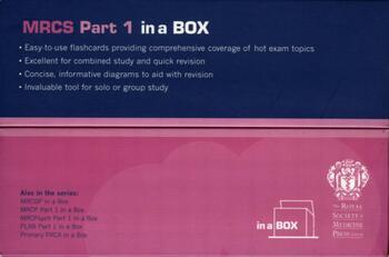 MRCS Part 1 in a Box book cover