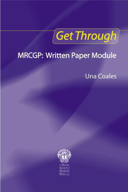 Get Through MRCGP: Written Paper Module book cover