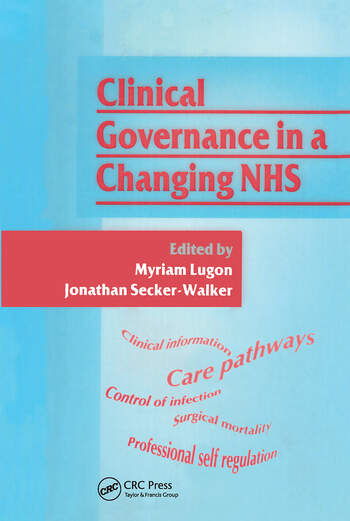 Clinical Governance in a Changing NHS book cover