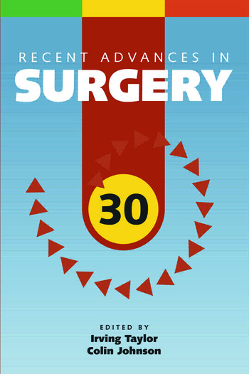 Recent Advances in Surgery 30 book cover