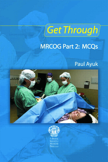 Get Through MRCOG Part 2: MCQs book cover