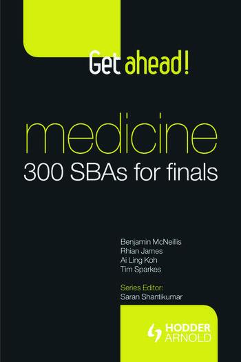 Get ahead! Medicine: 300 SBAs for Finals book cover
