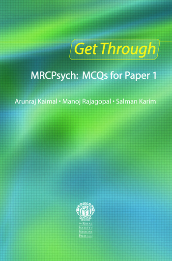 Get Through MRCPsych: MCQs for Paper 1 book cover
