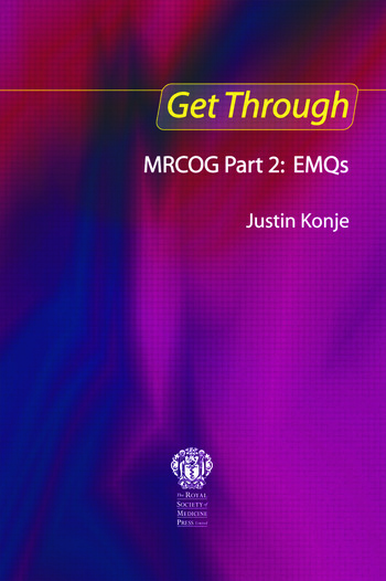 Get Through MRCOG Part 2: EMQs book cover