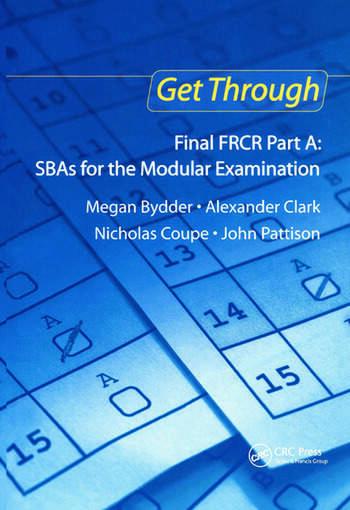 Get Through Final FRCR Part A: SBAs for the Modular Examination book cover