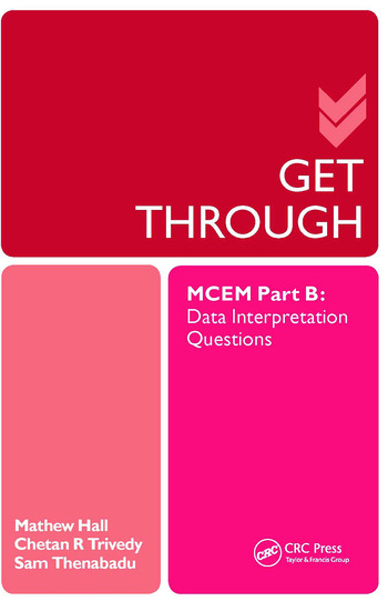Get Through MCEM Part B: Data Interpretation Questions book cover