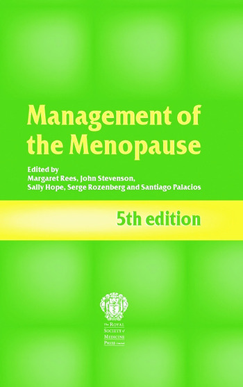 Management of the Menopause, 5th edition book cover
