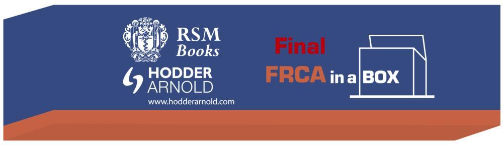 Final FRCA in a Box book cover