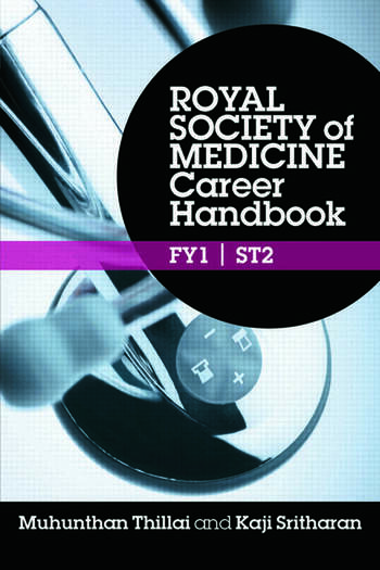 Royal Society of Medicine Career Handbook: FY1 - ST2 book cover