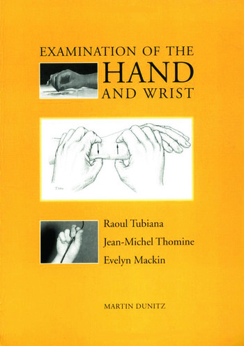 Examination of the Hand and Wrist book cover