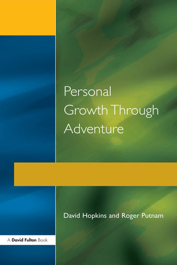 Personal Growth Through Adventure book cover