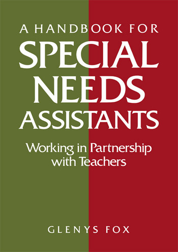 A Handbook for Special Needs Assistants Working in Partnership with Teachers book cover