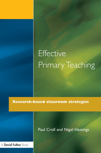Effective Primary Teaching Research-based Classroom Strategies book cover