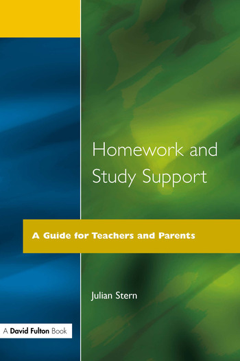 Homework and Study Support A Guide for Teachers and Parents book cover