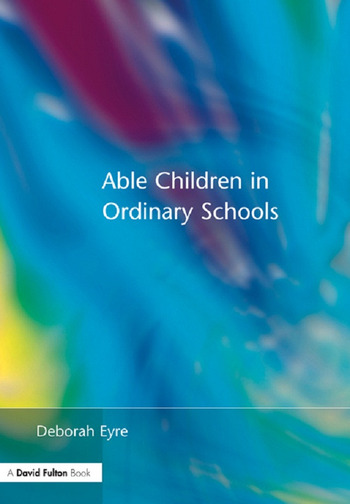 Able Children in Ordinary Schools book cover