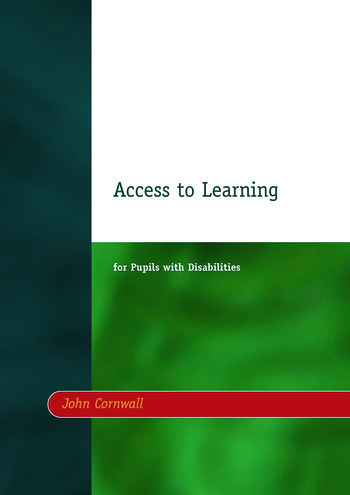 Access to Learning for Pupils with Disabilities book cover