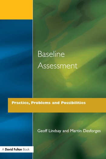 Baseline Assessment Practice, Problems and Possibilities book cover