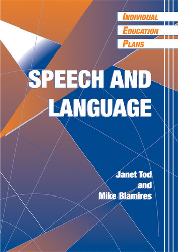 Individual Education Plans (IEPs) Speech and Language book cover