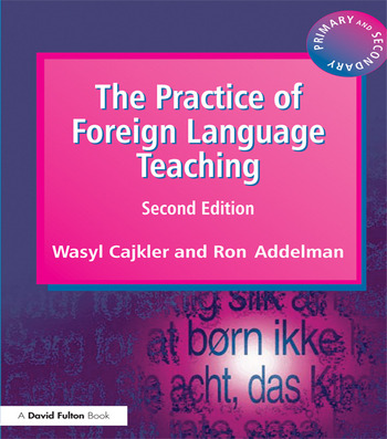 The Practice of Foreign Language Teaching book cover