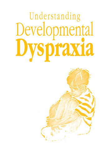 Understanding Developmental Dyspraxia A Textbook for Students and Professionals book cover