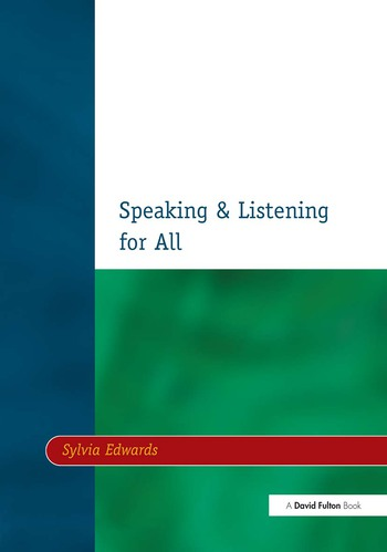 Speaking & Listening for All book cover
