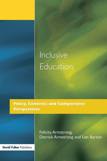 Inclusive Education Policy, Contexts and Comparative Perspectives book cover