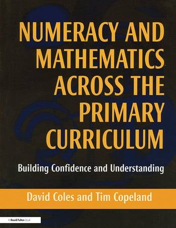Numeracy and Mathematics Across the Primary Curriculum Building Confidence and Understanding book cover
