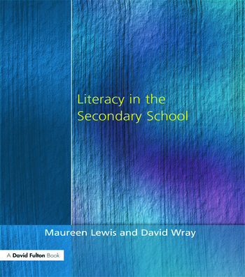 Literacy in the Secondary School book cover