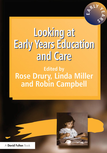 Looking at Early Years Education and Care book cover