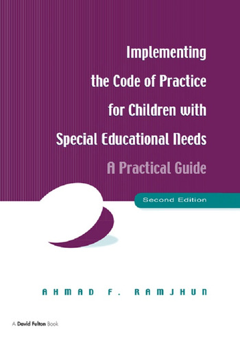 Implementing the Code of Practice for Children with Special Educational Needs A Practical Guide book cover