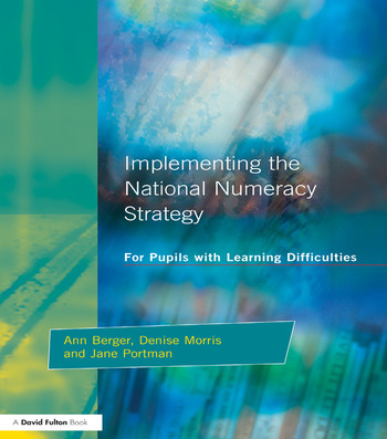Implementing the National Numeracy Strategy For Pupils with Learning Difficulties book cover