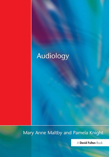 Audiology An Introduction for Teachers & Other Professionals book cover