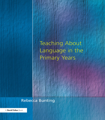 Teaching About Language in the Primary Years book cover