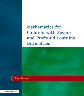 Mathematics for Children with Severe and Profound Learning Difficulties book cover