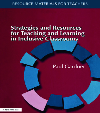 Strategies and Resources for Teaching and Learning in Inclusive Classrooms book cover