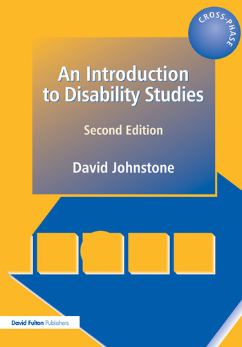 An Introduction to Disability Studies book cover