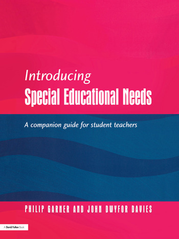 Introducing Special Educational Needs A Guide for Students book cover
