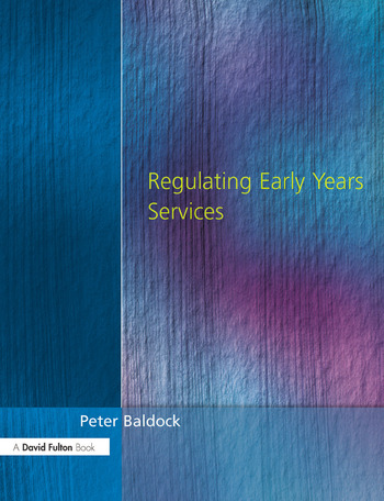 Regulating Early Years Service book cover