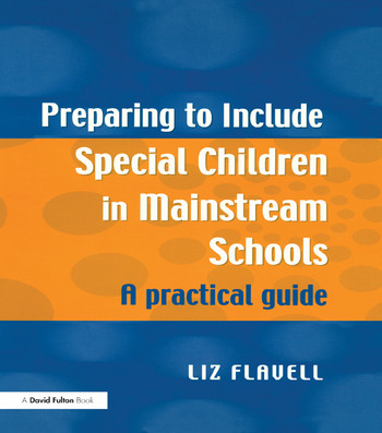Preparing to Include Special Children in Mainstream Schools A Practical Guide book cover