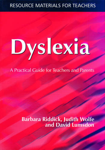 Dyslexia A Practical Guide for Teachers and Parents book cover