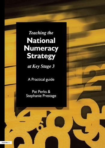 Teaching the National Strategy at Key Stage 3 A Practical Guide book cover