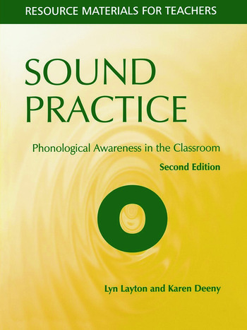 Sound Practice Phonological Awareness in the Classroom book cover