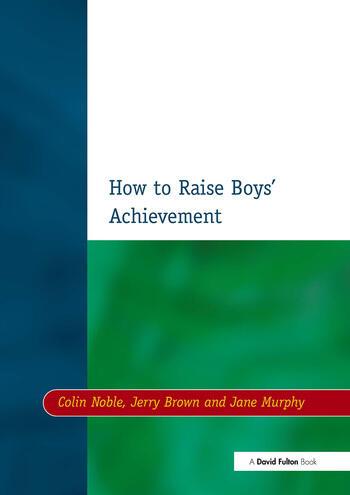 How to Raise Boys' Achievement book cover