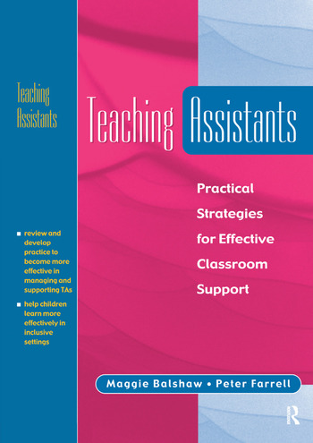 Teaching Assistants Practical Strategies for Effective Classroom Support book cover