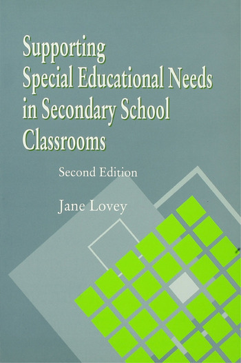 Supporting Special Educational Needs in Secondary School Classrooms book cover