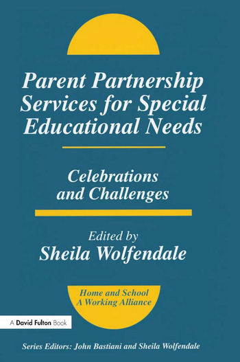 Parent Partnership Services for Special Educational Needs Celebrations and Challenges book cover