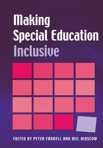 Making Special Education Inclusive From Research to Practice book cover